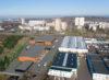 Gewerbehallen mit individuell gestaltbaren Grundrissen ab 2,99 €/m² für Lager und Logistik - Luftansicht Rendering